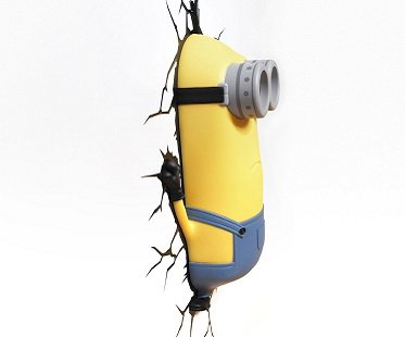 Minion Kevin Night Light wall