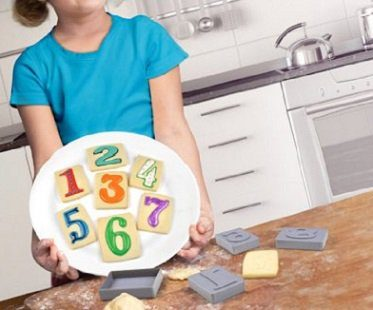 Number Cookie Stamps And Cutters