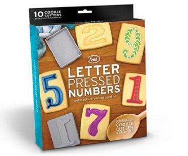Number Cookie Stamps And Cutters box