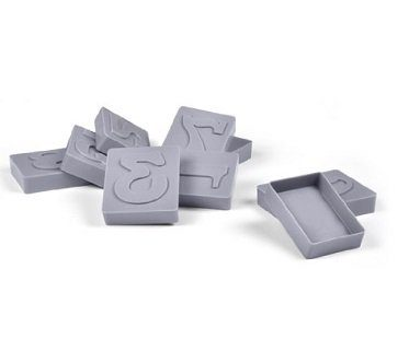 Number Cookie Stamps And Cutters press