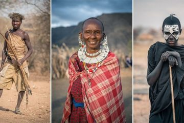 Photographs Local Tribes Tanzania
