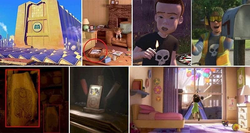 Pixar Easter Eggs Not Noticed Before
