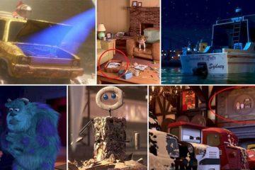 Pixar Movie Easter Eggs You Missed
