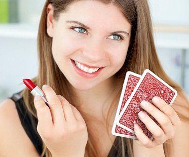 Playing Card Pocket Mirror