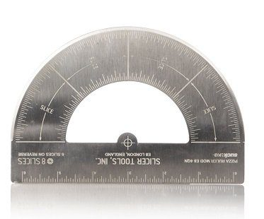 Protractor Pizza Cutter ruler
