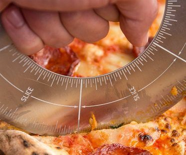 Protractor Pizza Cutter slicer