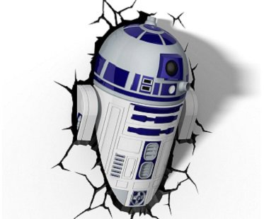 R2-D2 Night Light 3D