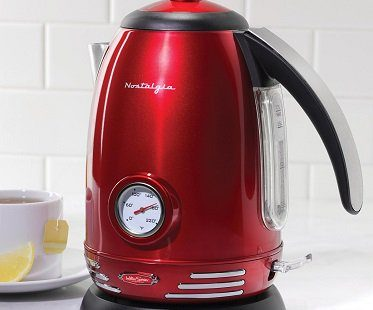 Retro Electric Kettle kitchen