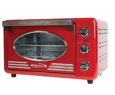 Retro Toaster Oven red