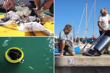 Seabin Floating Garbage Can Clean Oceans