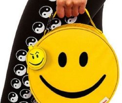 Smiley Face Lunch Bag