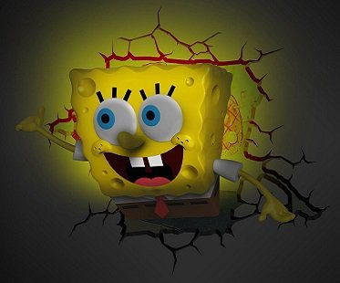 Spongebob Squarepants Night Light