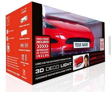 Sports Car Night Light box