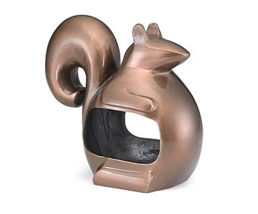 Squirrel Bird Feeder bronze