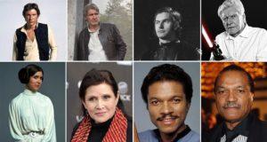 'Star Wars' Actors Then Now