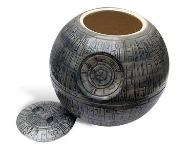 Star Wars Death Star Cookie Jar ceramic