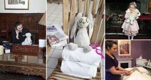 Stuffed Bunny Hotel Five-Star Treatment