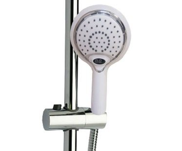 Temperature Display Shower Head led