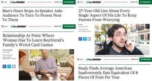 'The Onion' Headline Close To Real Life