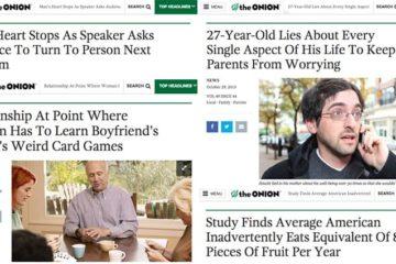 'The Onion' Headline Close To Real Life