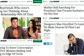 'The Onion' Headlines Close To Real Life