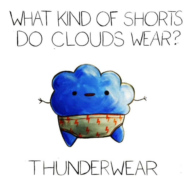 13 Cute And Hilarious Illustrated Puns Part 1