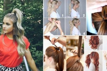 Tips Perfect Voluminous Ponytail