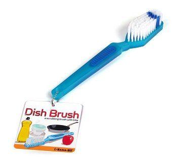 Toothbrush Dish Scrub