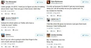 Tweets Comical Females