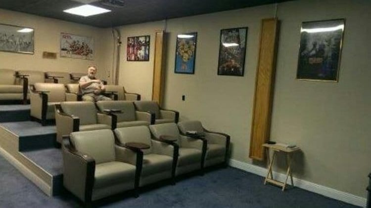 Underground-Bunker-17.5-Million-home-theater
