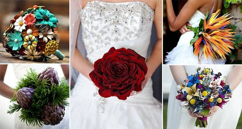 12 Beautiful And Unique Wedding Bouquet Ideas