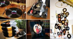 Unwanted Vinyl Records Ideas Uses