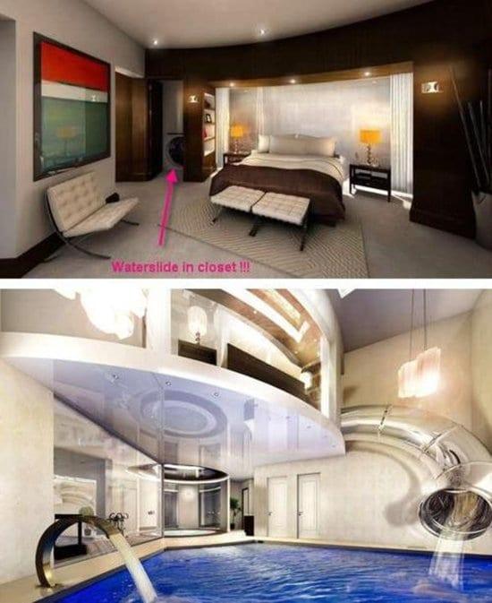 Weird-Wonderful-Room-Designs-waterslide
