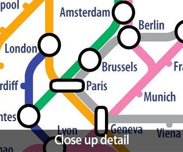 World Metro Map tube