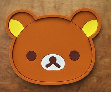 animal coasters bear