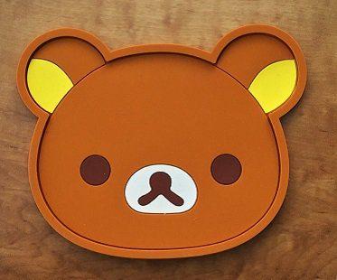 animal coasters bear