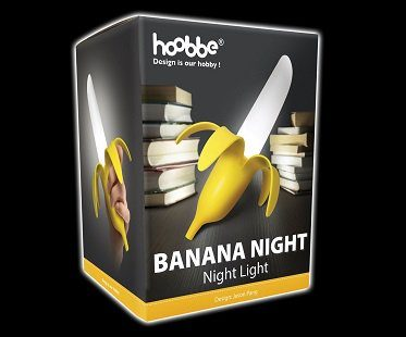 banana night light box