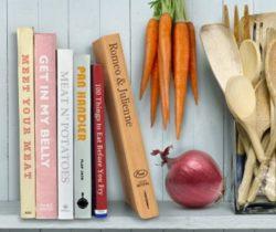 book-shaped cutting board