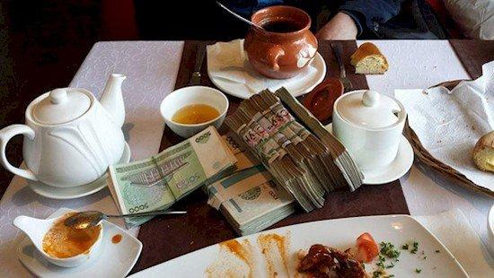 breakfast usbeki money