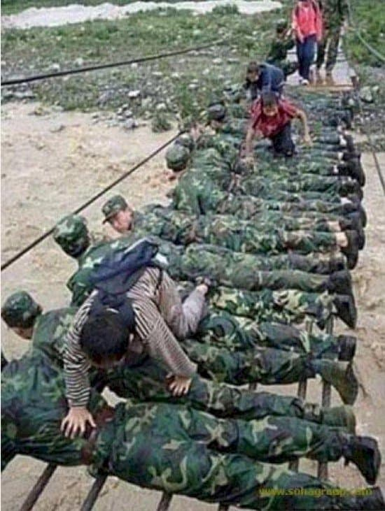 bridge of soldiers
