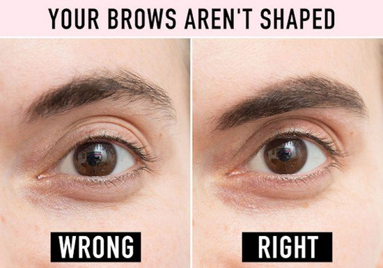 brows shaped