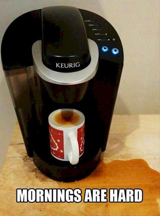 coffee problem mornings