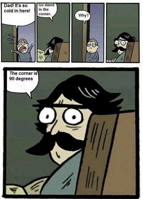 corner joke