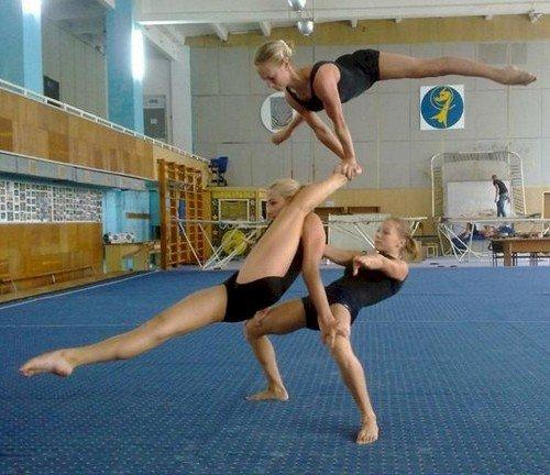crazy gymnast moves