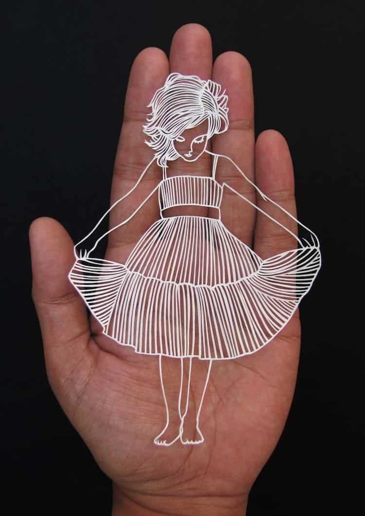 Parth Kothekar Creates This Stunning And Unique Paper Cut Art