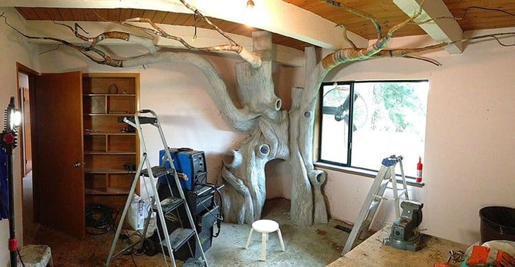 daughter-bedroom-fairy-forest-make-cement