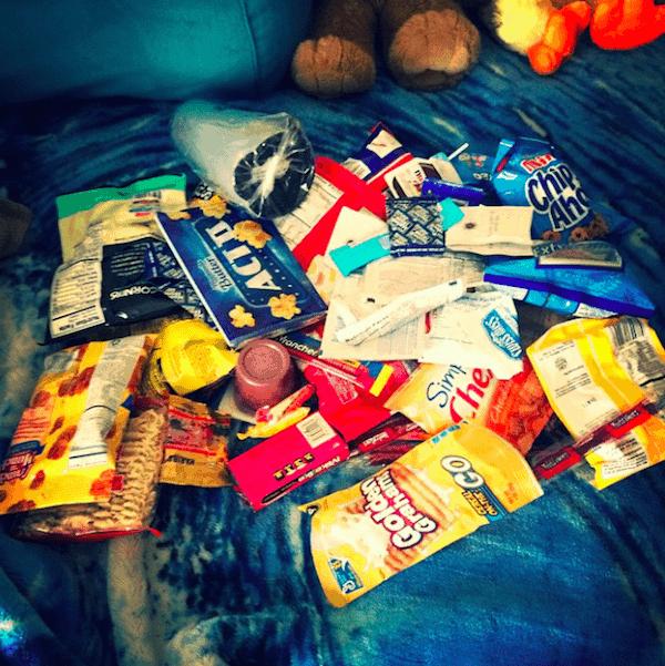 exams-junk-food