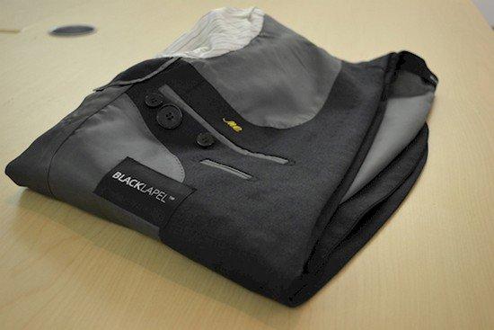 folded jacket