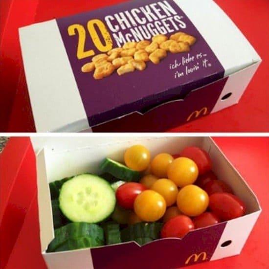 fruit veg mcnuggets