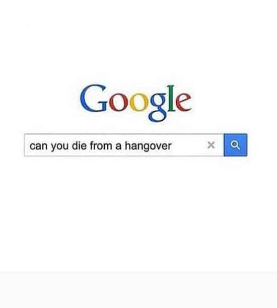 google hangover